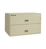Sentry 2L4340 2 Drawer - Fire and Water Resistant