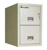 Sentry 2T3120 2 Drawer Letter - Fire and Impact Resistant - ...