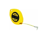 "Stanley 34-106 Long Tape Measure, 3/8"""" Graduations, 100 ft., Yellow"