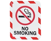 Sign Holder, Magnetic, No Smoking, PK2