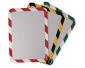 Sign Holder, Green/White, Magnetic, PK2