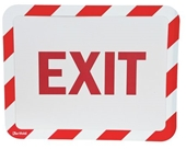 Sign Holder, Adhesive, Exit, PK2