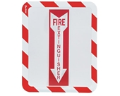 Sign Holder, Adhesv, Fire Extinguisher, PK2