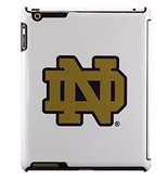 Uncommon LLC Notre Dame Deflector Hard Case for iPad 2/3/4 , Blue/Gold Logo (C0500-O)