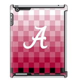 Uncommon LLC University of Alabama Pixel Stripe Deflector Hard Case for iPad 2/3/4 (C0050-CX)