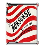 Uncommon LLC Quotes Nonsense Deflector Hard Case for iPad 2/3/4 (C0050-PF)