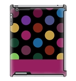 Uncommon LLC Giant Dots Deflector Hard Case for iPad 2/3/4 (C0010-FN)