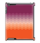 Uncommon LLC Deflector Hard Case for iPad 2/3/4, Crisp Sunrise Orange Purple (C0010-MP)
