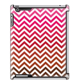 Uncommon LLC Deflector Hard Case for iPad 2/3/4, Red Chevron Fade (C0010-OK)