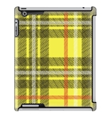 Uncommon LLC Yellow Orange Plaid Deflector Hard Case for iPa...