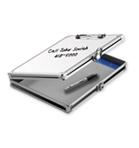 "Locking Coaches Storage Clipboard With White Board, 8 1/2"" x..."