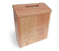 Guest Pager Drop Box - Holds 10-15 Coasters or 18-20 Adver-Teasers