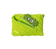 ZIPIT Talking Monstar Jumbo Pencil Case, Bright Lime
