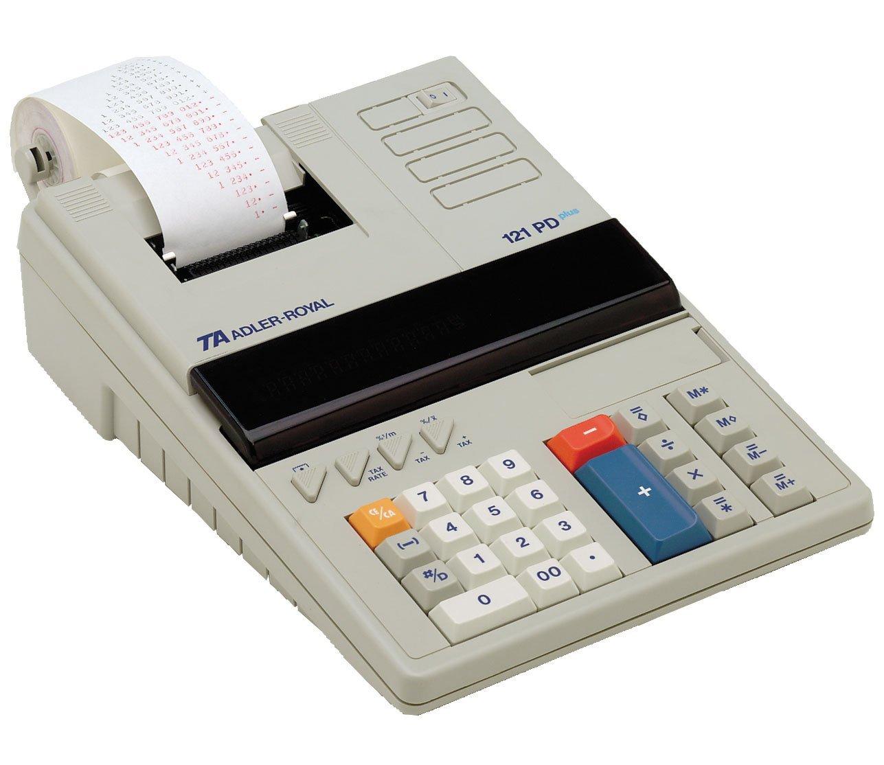 Adler 121pd 12 Digit Calculator
