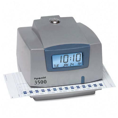 pyramid technologies 3500 refurbished time recorder