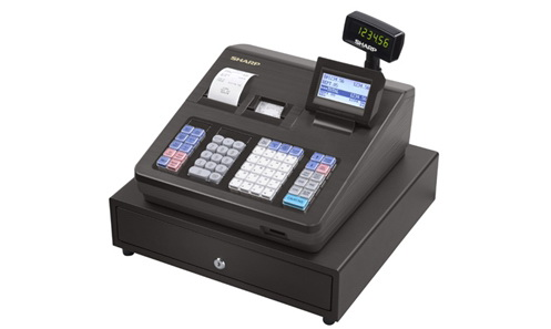 Sharp Xe A43s Cash Register