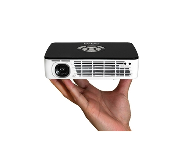 Aaxa KP-600-01 P300 Pico/Micro Projector with LED, WXGA 1280x800 Resolution, 300 Lumens, Pocket Size, Media Player and HDMI