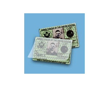 "Akiles 10 Mil Military Card Laminating Pouches (No Slot) 2-5/8"" x 3-7/8"" (500/box)"