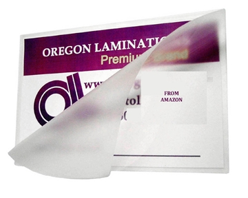 Akiles 5 Mil Letter Laminating Pouches Qty 100 Hot 9 x 11-1/2 with Seal on Long Side