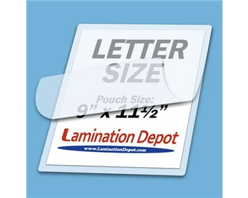 "Akiles 7 Mil Letter Laminating Pouches 9"" x 11-1/2"" (100/box)"