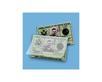 "Akiles 7 Mil Military Card Laminating Pouches (No Slot) 2-5/8"" x 3-7/8"" (500/box)"