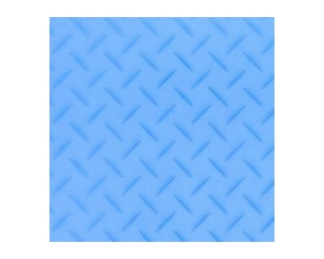 Akiles Crystal Blue Tinted 16 mil Oversize Poly Covers, 50 pcs