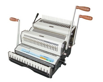 Akiles DuoMac C21 Plastic Comb and 2:1 Wire Binding Machine