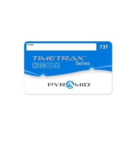 Pyramid TimeTrax Swipe Cards 26-50 for Models EZ and EZEK