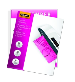 Fellowes Laminating Pouches, Thermal, Letter Size, 10 Mil, 50 Pack (52042)