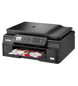 Brother Wireless Inkjet All-in-One w Auto Document Feeder - MFCJ470DW - Refurbished