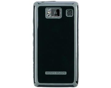 Body Glove 9282001 Tactic Case for Motorola Fighter/Vanquish/Droid Razr HD - 1 Pack - Retail Packaging - Black/Gray