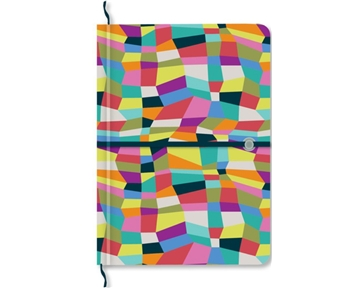 C.R. Gibson Iota Legacy Reversible Cover Journal, Unfolded, 5.25 x 7.25 Inches (ILJR-10191)