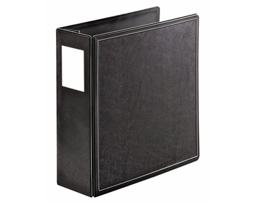 Cardinal by TOPS Products SuperLife EasyOpen Locking Slant-D Ring Binder, 4 Inch Capacity, Black (14042CB)