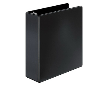 Cardinal by TOPS Products XtraValue Slant-D Ring Binder, 3 Inch Capacity, Black (XV632)
