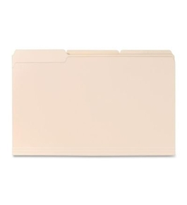 Sparco File Folders, 11 Point, 1/3 Cut Assorted Tab, Legal, 100 per Box, Mani...