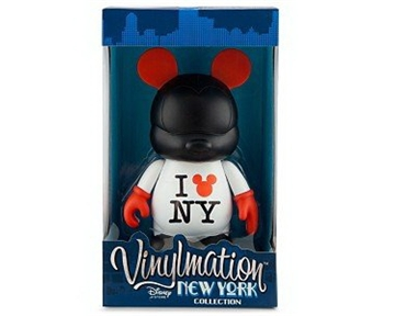 Disney Vinylmation New York Series 9'' Figure I Mickey NY Shirt Great Figure