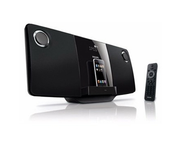 Exclusive Philips DCM276 Sleek Micro Music System with iPod Dock By PHILIPS