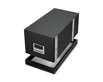 Fellowes Bankers Box Base - For Storage Box - Metal - Black
