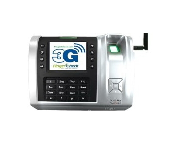 FingerTec Fingerprint Time Clock with 3G Service