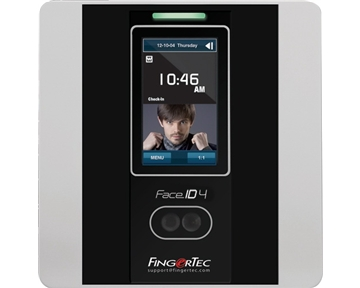 Fingertec Touch Screen Face Recognition & RFID Time Clock