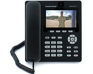 Grandstream GS-GXV3140 IP Multimedia Phone with 4.3-Inch Color LCD Display