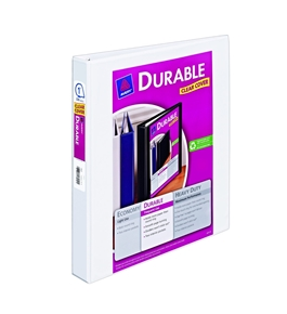 Avery Durable View Binder with 1-Inch Slant Ring, Holds 8.5 x 11 Inches Paper