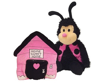 Happy Nappers Ladybug Pillow - 86775