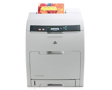 Hewlett-Packard LJCP3505N HEWLETT CB442A Certified Remanufactured Color Laser Printer with Network - Refurbished