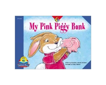 My Pink Piggy Bank by Rozanne Williams
