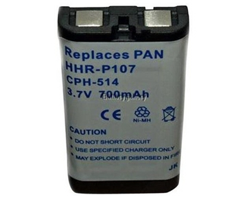 Original Panasonic Ni-MH Rechargeable Cordless Phone Battery (HHR-P107A/1B) (Not Generic)