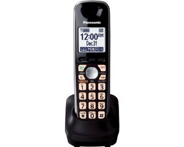 Panasonic KX-TGA401B Extra Handset for KX-TG4000 Series Cordless Phone, Black (KXTGA401B)