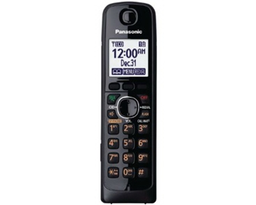 Panasonic KX-TGA660B Extra Handset for 762X and 663X Series Cordless Phones, Black (KX-TGA660B)