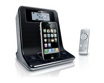Philips DC320 Digital FM Dual-Alarm Clock Radio with iPod Dock