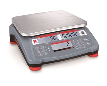 Ranger 3000 Count Bench Scale, Large Display, NTEP (Counting Function not NTEP)- New -Ranger 3000 Count Scale, 6 x 0.002 lb